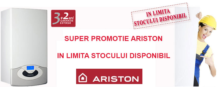 Super promotie Ariston